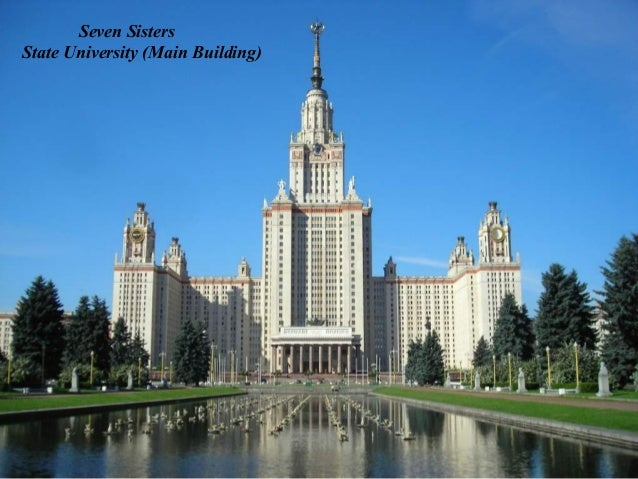 Seven SistersRed Gates Administrative Building
