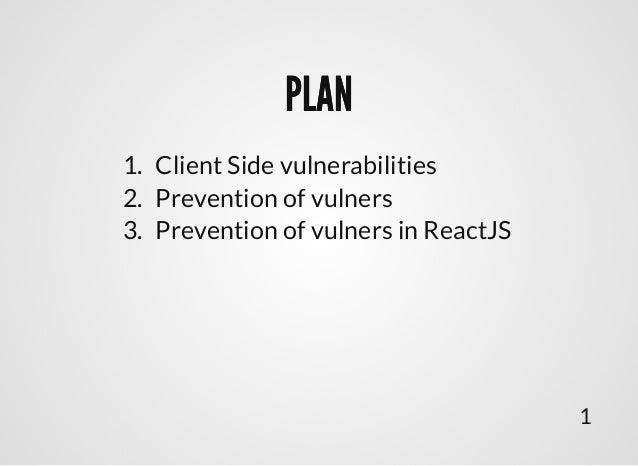 """Подход к написанию безопасного клиентского кода на примере React"", Иван Елкин, MoscowJS 25 Slide 2"