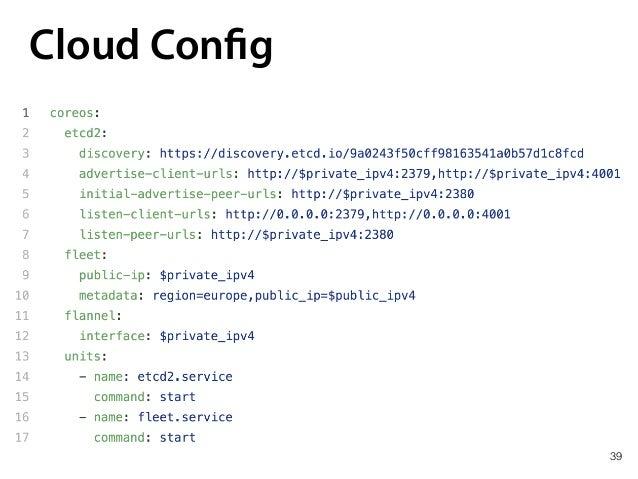 39 Cloud Config