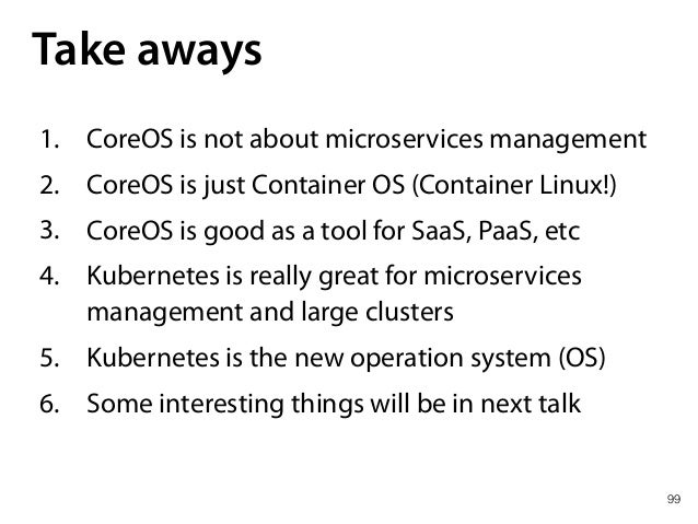 From CoreOS to Kubernetes and Concourse CI