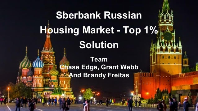 Kaggle Top1% Solution: Predicting Housing Prices in Moscow