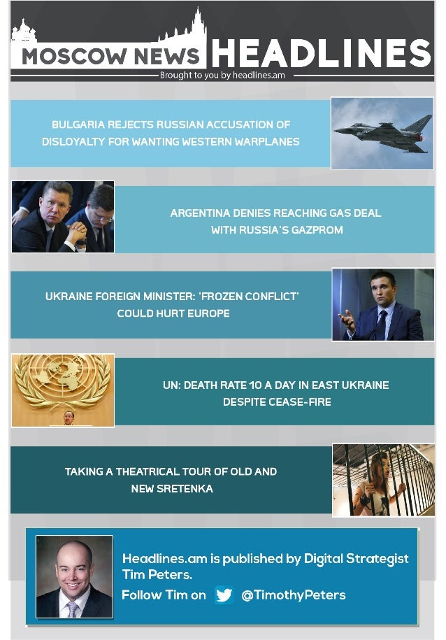 MOSCOW NEWS - OCTOBER 9, 2014