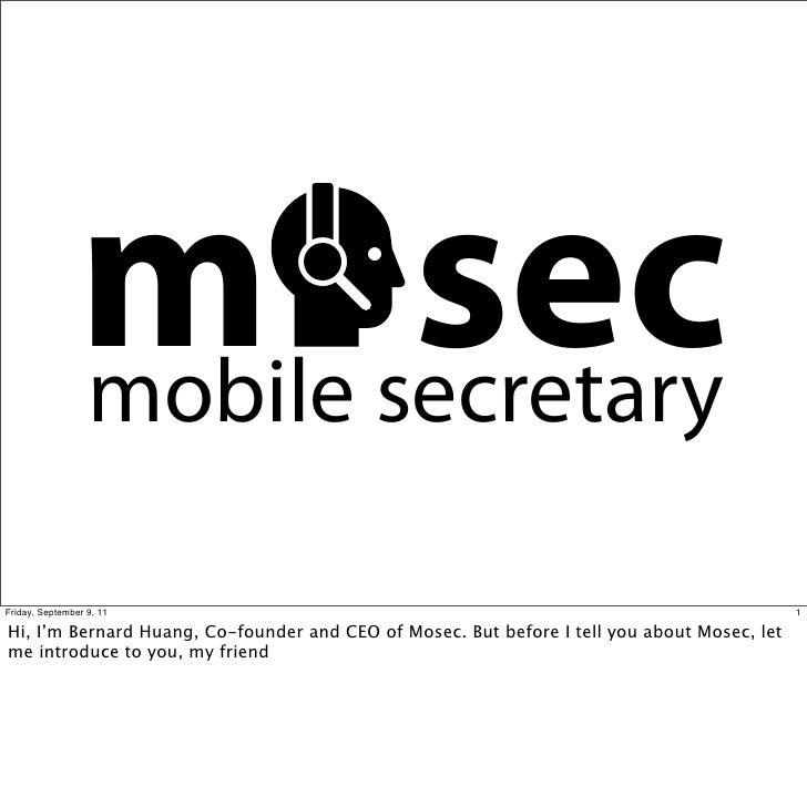 m secretary                mobile                       secFriday, September 9, 11                                        ...