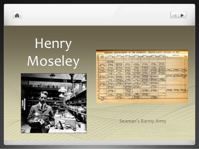 Henry  Moseley  Seaman's Barmy Army