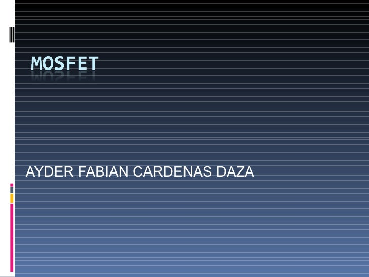 AYDER FABIAN CARDENAS DAZA