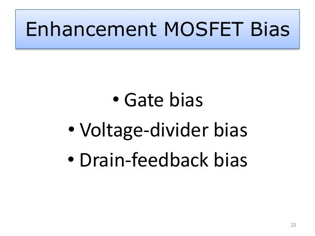 About MOSFET