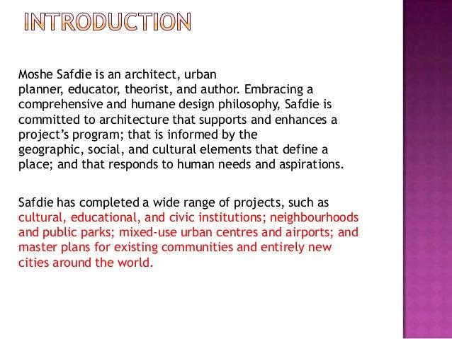 Moshe safdie Slide 2