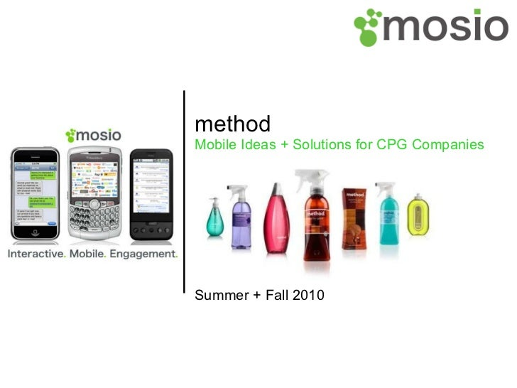 method Mobile Ideas + Solutions for CPG Companies