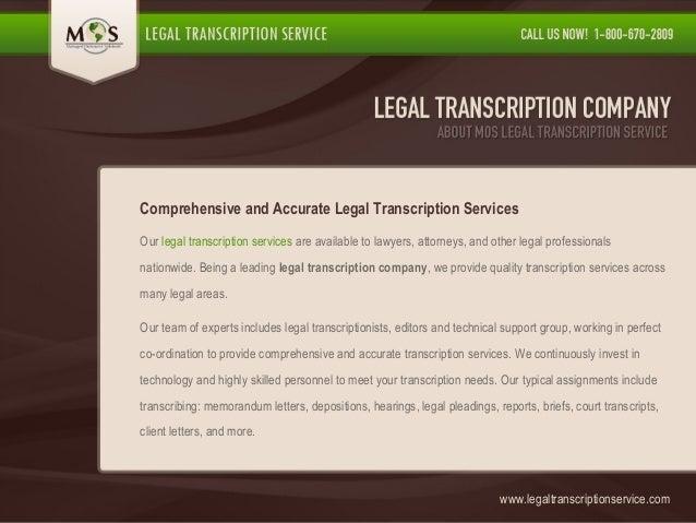 Transcription company reviews