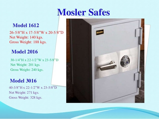 Mosler Philippines Incorporated power point