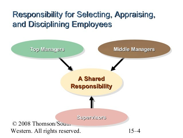 chapter 15 selecting, appraising, and discipline employees by mosley, pietri and mosley, Chapter 14 charismatic leaders display positive emotions that followers find contagious chapter 15 business students more satisfied with lives perform better chapter 16 generational differences in work values chapter 17 demographic faultlines pose implications for managing teams chapter 18 words affect outcomes in online dispute resolution.