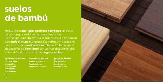 Cat logo suelos de bamb moso 2013 - Suelos de bambu ...