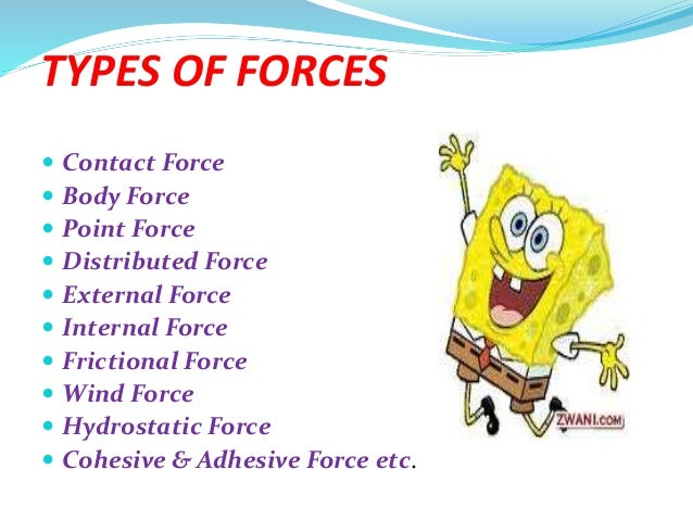 FORCE, TYPES, & SYSTEM OF FORCES