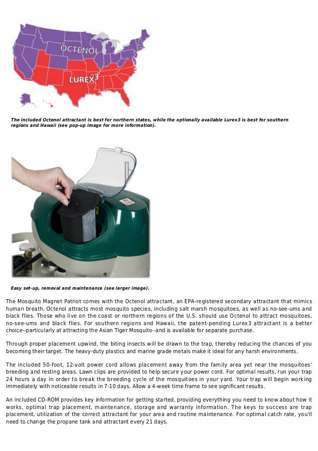 Mosquito magnet mm4100 patriot mosquito trap - 웹
