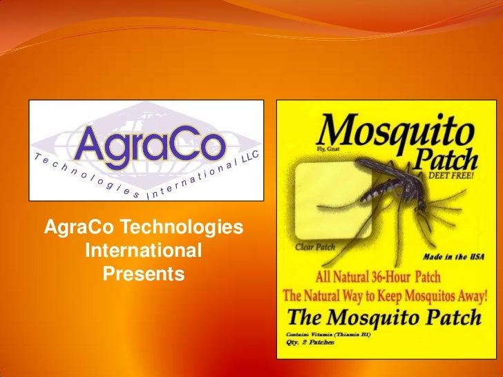 AgraCo Technologies    International      Presents