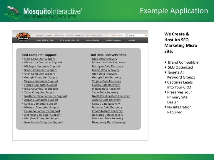 mosquito pitch deck