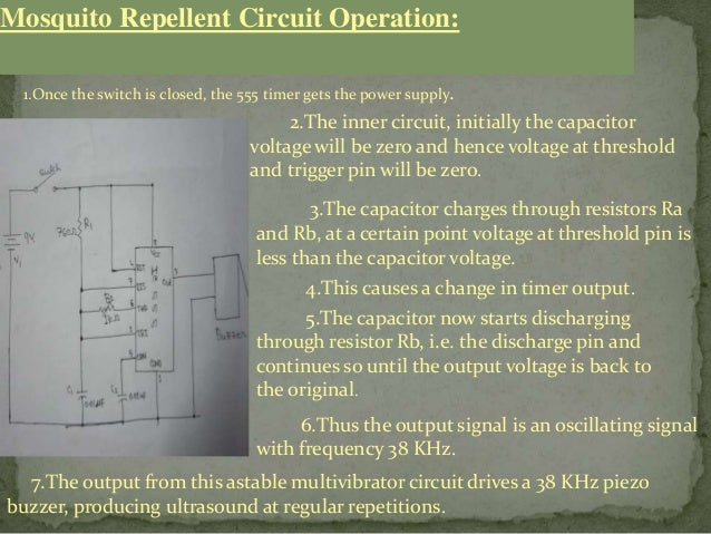 Mosquito Repellent Circuit