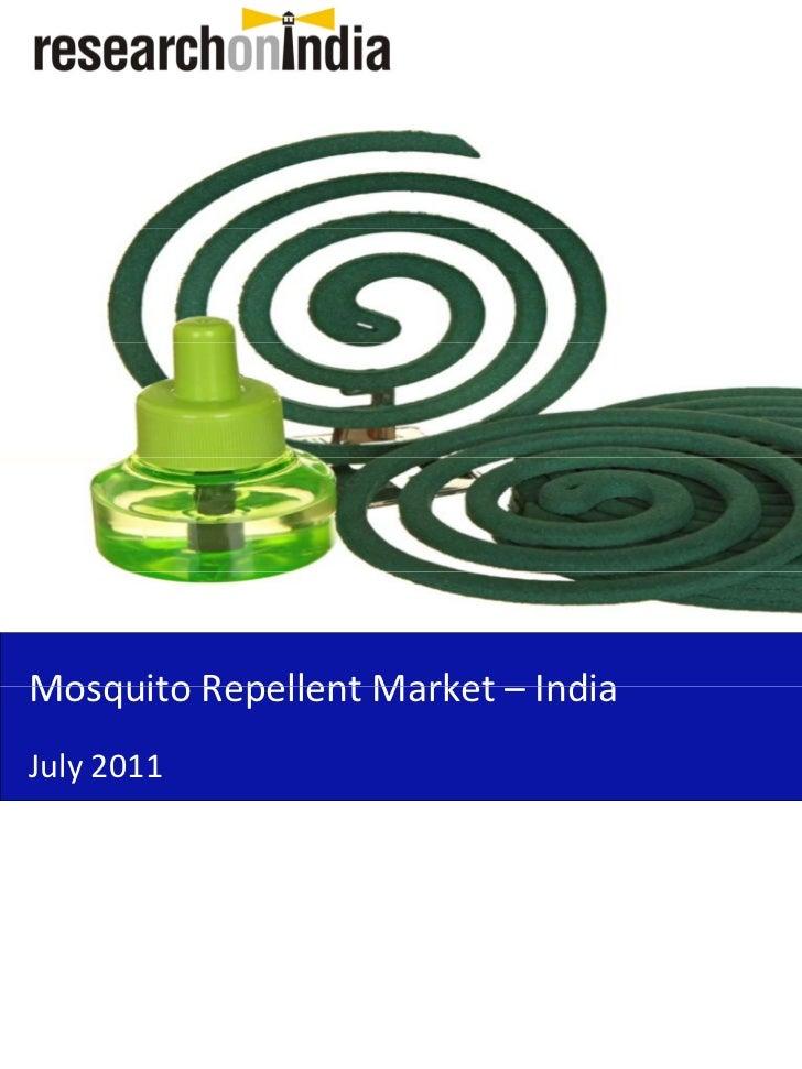 India Travel Mosquito Repellent