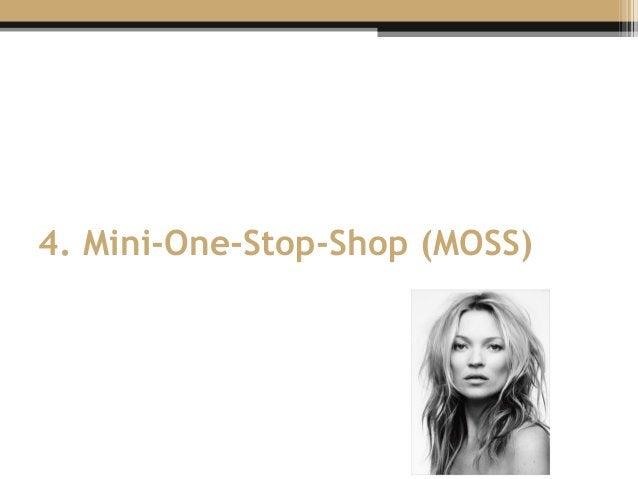 4. Mini-One-Stop-Shop (MOSS)
