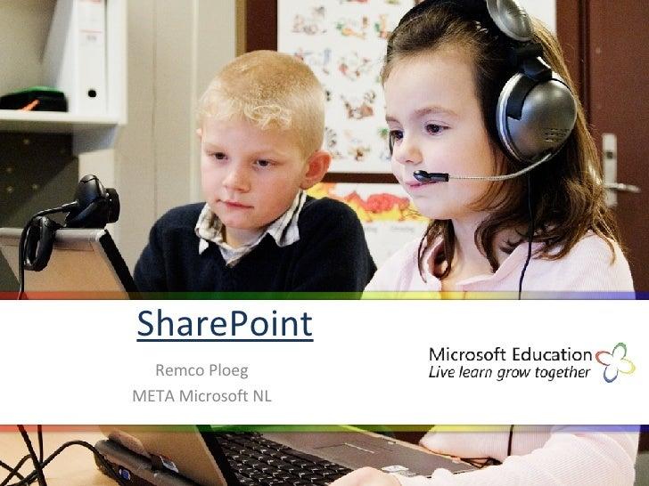 SharePoint Remco Ploeg META Microsoft NL
