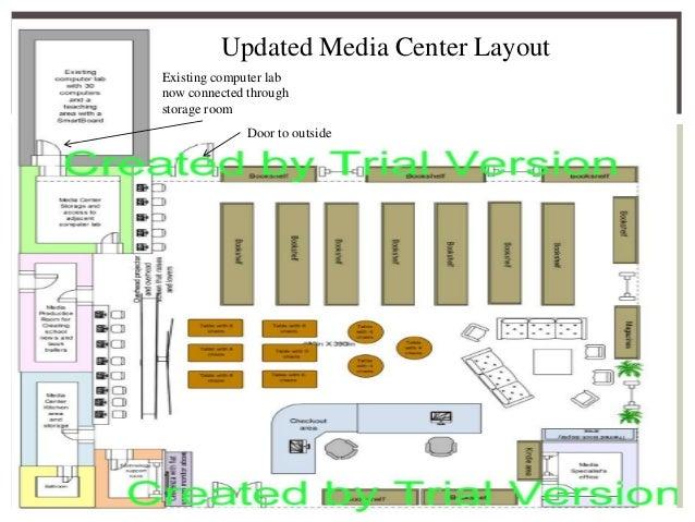 Mossy creek middle school media center facilities plan for Media center plans