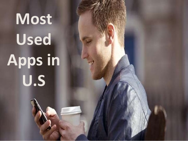Most  Used  Apps in  U.S
