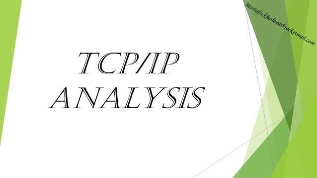 TCP/IP Analysis