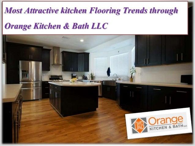 Most Attractive Kitchen Flooring Trends Through Orange Kitchen Amp