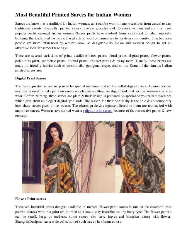 23b04c3679 Exclusive Digital Printed Sarees Online