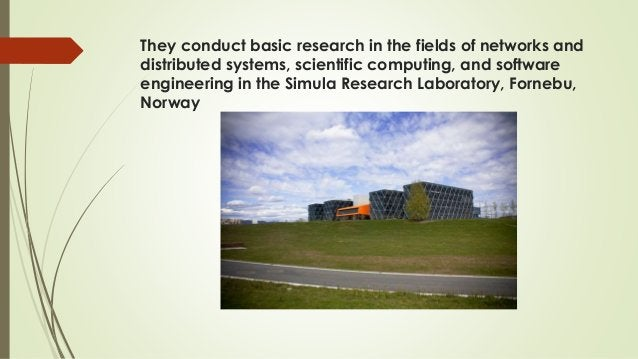 They conduct basic research in the fields of networks and distributed systems, scientific computing, and software engineer...