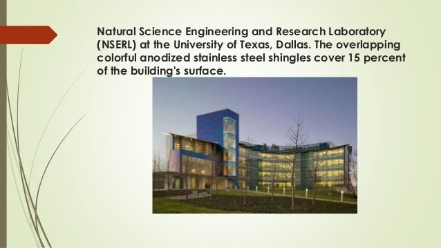 Natural Science Engineering and Research Laboratory (NSERL) at the University of Texas, Dallas. The overlapping colorful a...