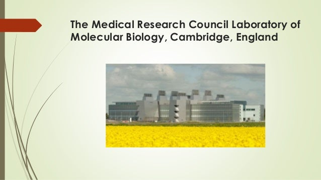 The Medical Research Council Laboratory of Molecular Biology, Cambridge, England