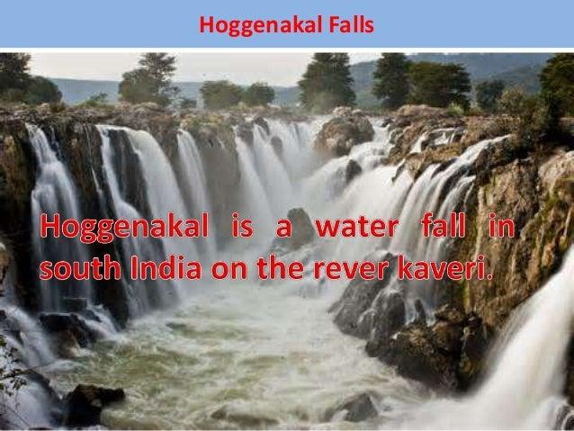 Hoggenakal Falls