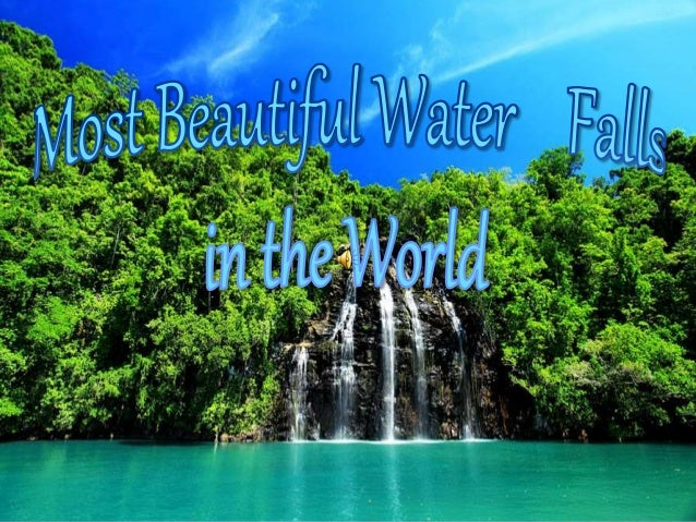 Listed Below Are The Ten Most Beautiful In World 1 Victoria Falls