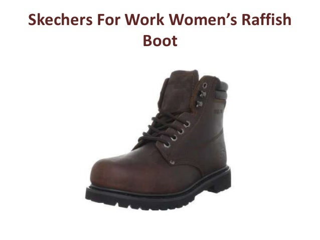 Skechers For Work Women s Raffish Boot ... 6af0e4f12