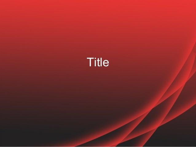 Most commented modern red powerpoint template design toneelgroepblik Gallery