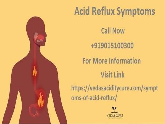 what are acid reflux symptoms