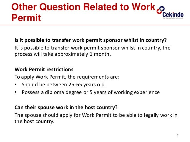 how to apply for work permit in usa