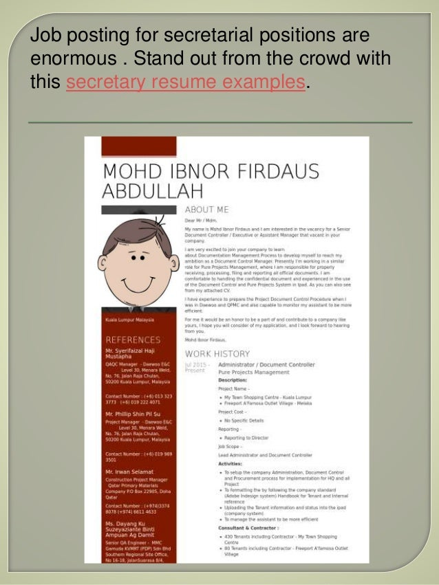 most extraordinary resume examples