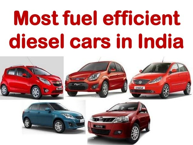 Most fuel efficient diesel cars in india 2016