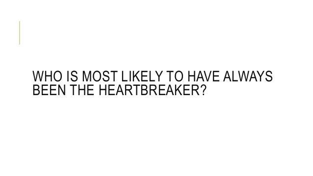 Most Likely To Questions >> Most Likely To Questions