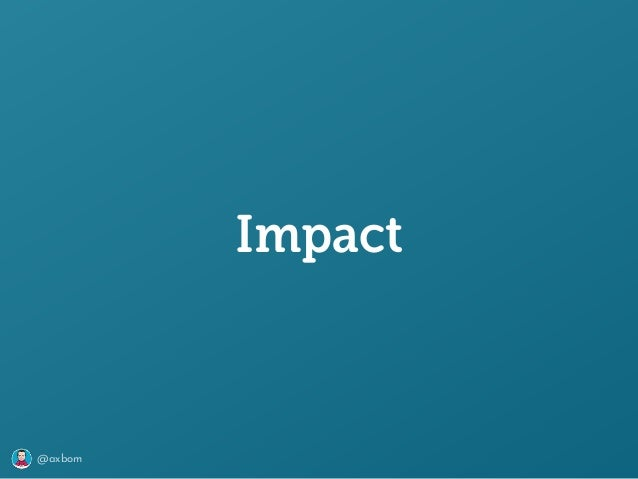 @axbom Impact