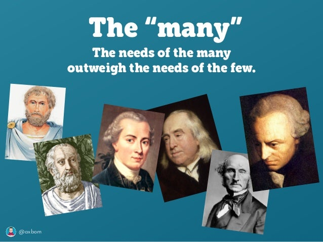 """@axbom The """"many"""" The needs of the many outweigh the needs of the few."""