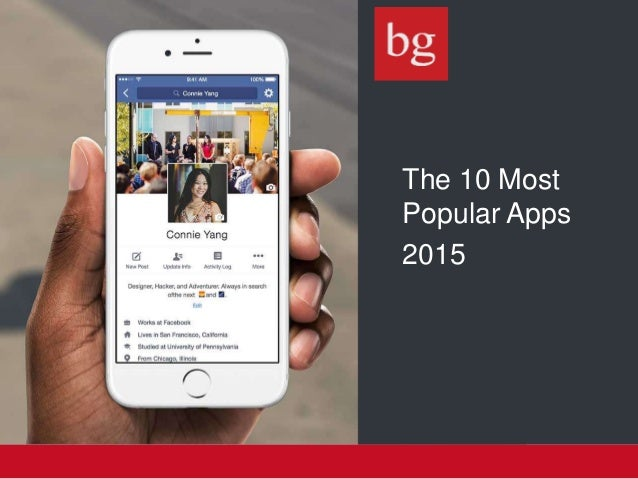 The 10 Most Popular Apps 2015