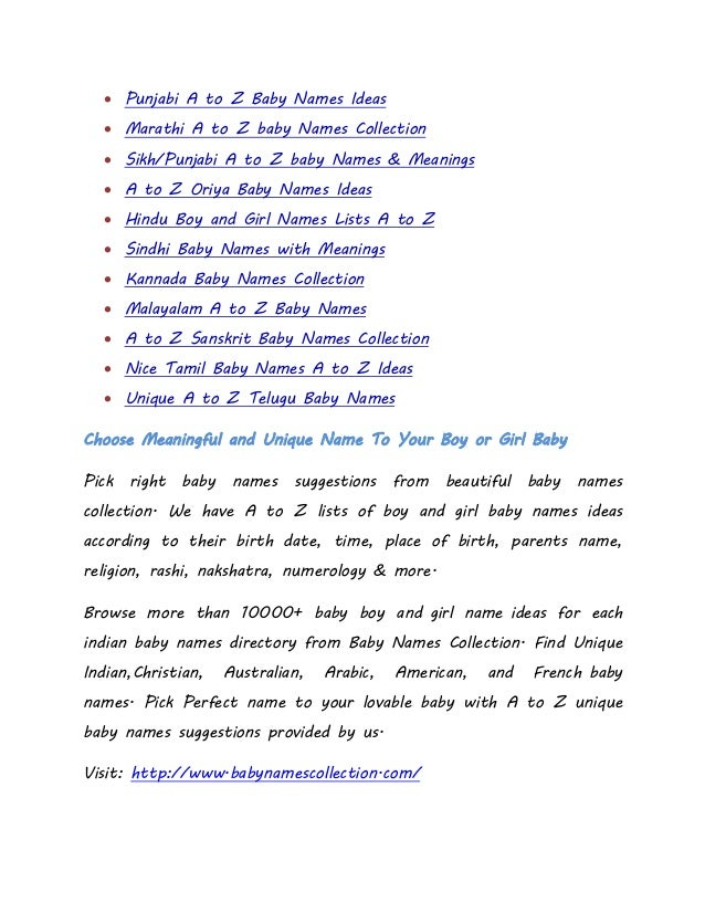 2003fcbd1 Most popular a to z indian baby names lists with meanings