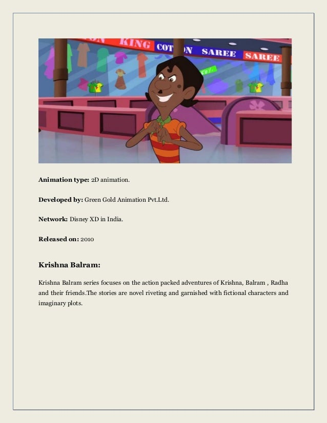Most popular indian animated characters