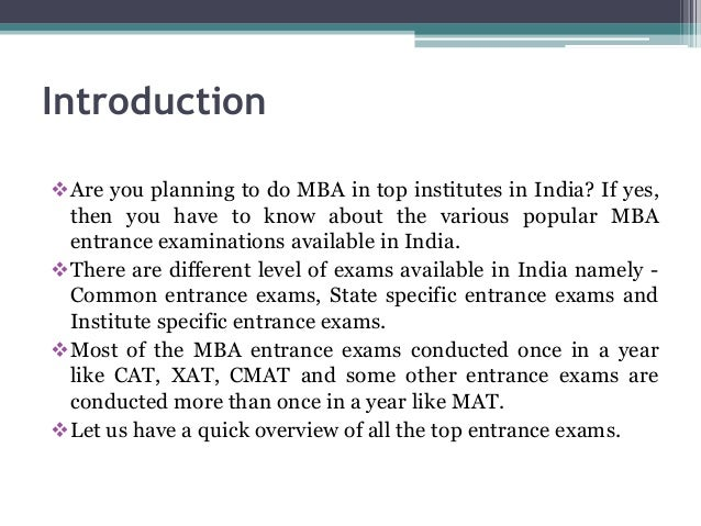Introduction Are you planning to do MBA in top institutes in India? If yes, then you have to know about the various popul...
