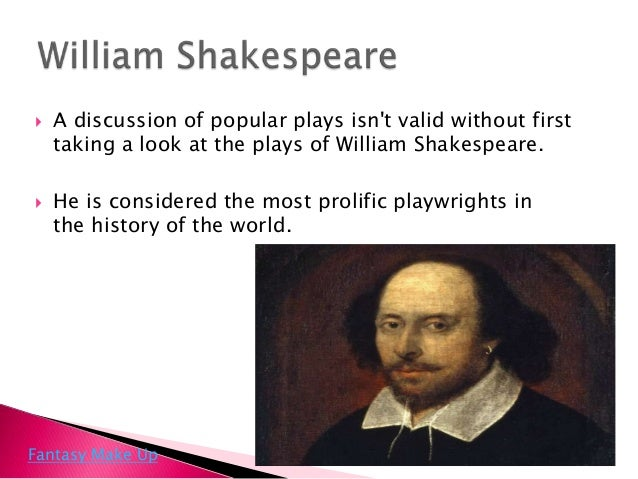 most famous plays Although there is no official list of william shakespeare's plays in order of popularity, most experts and aficionados agree that his most famous play is hamlet hamlet is also widely considered to be shakespeare's best play hamlet is also the most performed shakespeare play scholars believe .