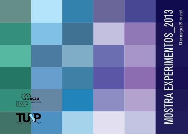 13 de março a 21 de abril  mostra experimentos_2013