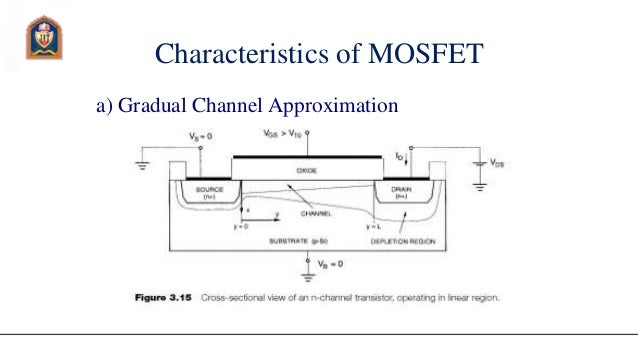 characteristics of mosfet a gradual channel approximation